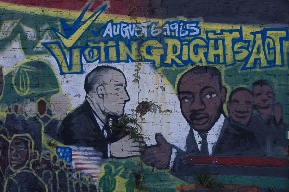 Voting Rights Mural
