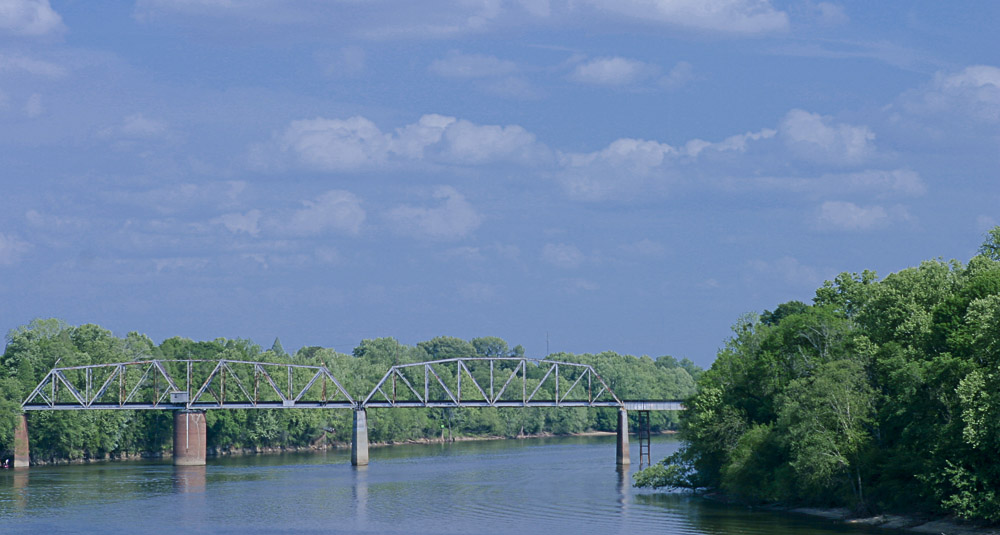Railroad Bridge in Selma