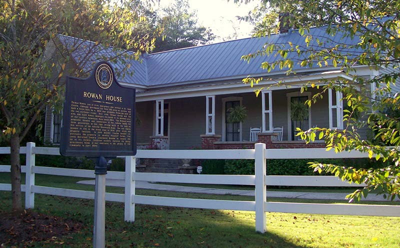 Rowan Oaks Historic Home